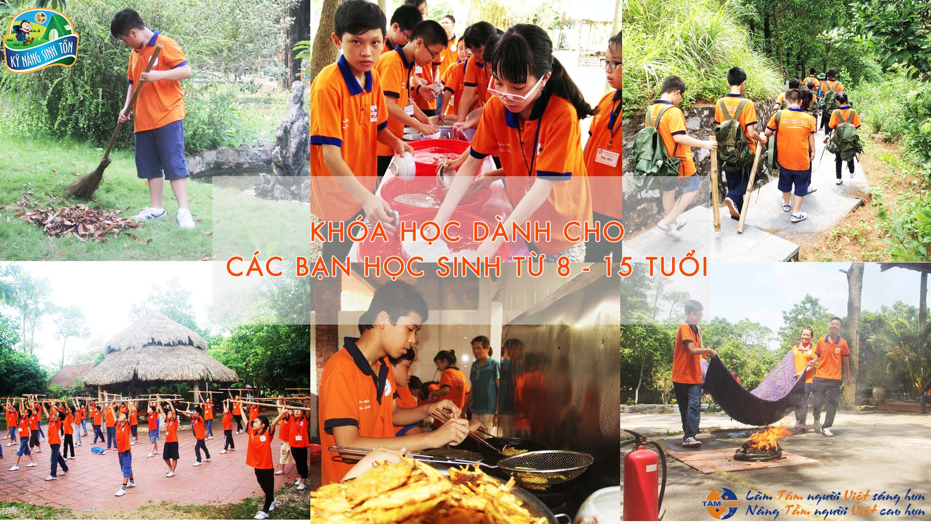 Kỹ năng sinh tồn Tâm Việt 2017